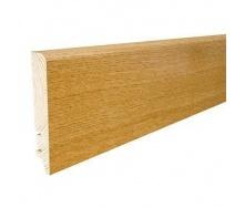 Плинтус деревянный Barlinek P61 Дуб глянцевый лак 90х16х2200 мм