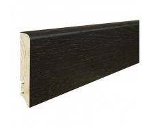 Плінтус дерев'яний Barlinek P61 Дуб еспрессо 90х16х2200 мм