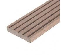 Плинтус для террасной доски Woodplast Bruggan 50x2200 мм cedar