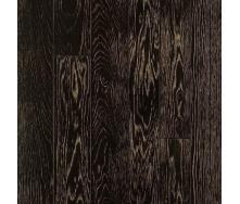 Паркетная доска DeGross Дуб черный с золотом протертый 1200х100х15 мм