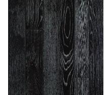 Паркетная доска DeGross Дуб черный с серебром протертый 1200х120х15 мм