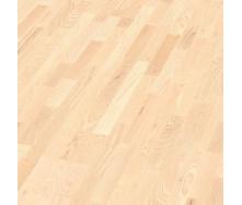 Паркетна дошка BOEN Longstrip Ясен з білими вкрапленнями Andante 14x209x2200 мм масло