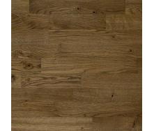 Паркетна дошка трьохсмугова Focus Floor Дуб SANTA ANA легкий браш коричневе масло 2266х188х14 мм
