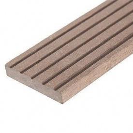 Плінтус для терасної дошки Woodplast Bruggan 50x2200 мм cedar