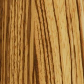 Паркетная доска Serifoglu однополосная Зебрано Люкс T&G 1200х126х14 мм лак