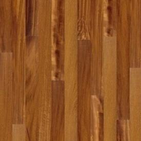 Паркетна дошка BOEN Plank односмугова Іроко 2200х138х14 мм лак