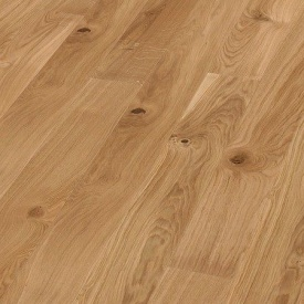 Паркетна дошка BOEN Plank однополосная Дуб Vivo браширована 2200х138х14 мм масло