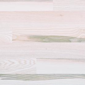 Паркетна дошка BEFAG двохсмугова Ясен Рустик New York 2200x192x14 мм білий лак