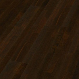 Паркетная доска BOEN Longstrip Дуб Нуар пропаренный 14x209x2200 мм лак матовый