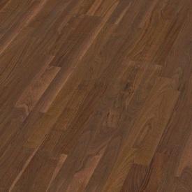 Паркетная доска BOEN Longstrip Орех американский Andante 14x209x2200 мм