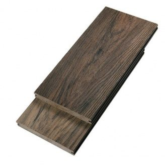 Террасная доска Woodplast Bruggan Elegant полнотелая 140х18х2900 мм copper