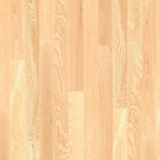 Паркетна дошка BOEN Plank односмугова Ясень Andante 2200х138х14 мм лак матовий