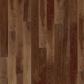 Паркетная доска BOEN Plank однополосная Орех американский Andante 2200х138х14 мм лак матовый