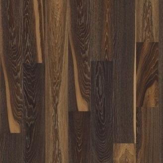 Паркетная доска BOEN Stonewashed Plank Castle однополосная Дуб Лава брашированная 2200х209х14 мм