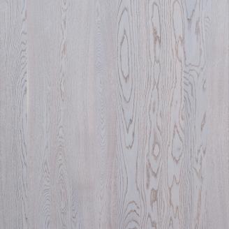Паркетная доска однополосная Focus Floor Дуб PRESTIGE BORA легкий браш, серое масло 2000х188х14 мм