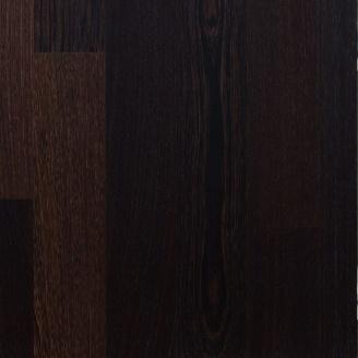 Паркетная доска Serifoglu однополосная Венге Люкс UV-Масло Брашь T&G 1200x126x14 мм