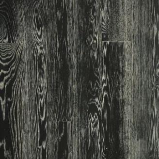 Паркетная доска DeGross Дуб черный с белым браш масло 1200х100х15 мм