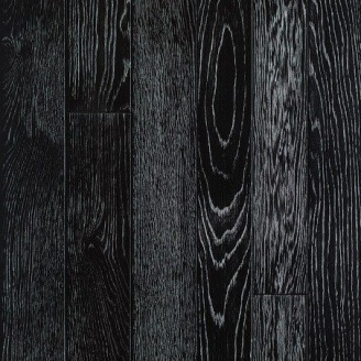 Паркетная доска DeGross Дуб черный с серебром протертый 1200х100х15 мм