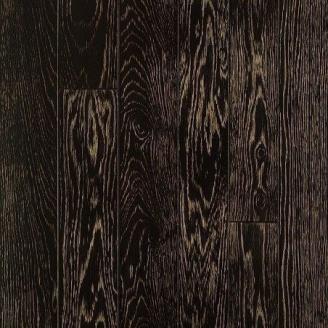 Паркетная доска DeGross Дуб черный с золотом протёртый 500х100х15 мм