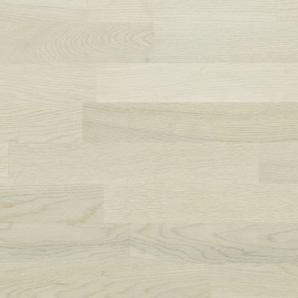 Паркетная доска BEFAG трехполосная Дуб Омнис Морская соль 2200x192x14 мм выбеленный браш лак