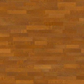 Паркетна дошка Graboplast JIVE трисмугова Дуб Медовий Trend 2250х190х14 мм