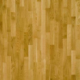 Паркетна дошка трьохсмугова Focus Floor Дуб LEVANTE золотистий лак 2266х188х14 мм
