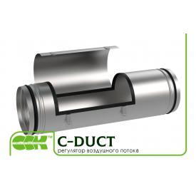 Регулятор воздушного потока для круглой вентиляции C-DUCT-250
