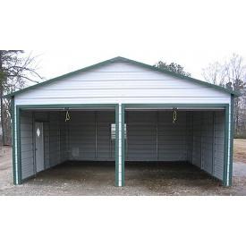 Строительство гаража двойного 7х6 м