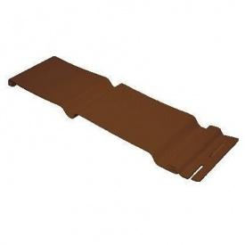 Панель стінова Welltech С3 вертикальний софіт 2 3850х256 мм коричнева