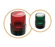 Сигнальная лампа FAACGenius Guard 230 В 90x170x120 мм зеленый