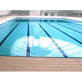 Плитка для бассейнов Interbau Blink Школьный бассейн крытого типа