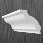Плинтус потолочный багет Киндекор C-45 45x40