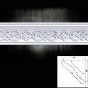 Багет потолочный Optima Decor 720 HQ 53x53 2 м