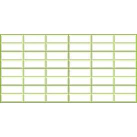 Панель ПВХ Регул Фонова Плитка Біла 0,4 мм 957x477 мм