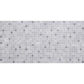 Листовая панель ПВХ Регул мозаика Серый микс 0,3 мм 955x488 мм