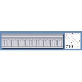 Багет потолочный Optima Decor 710 HQ 53x53 2 м