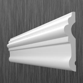 Профиль настенный молдинг Киндекор U-80 80 мм