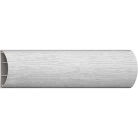 Налічник ПВХ з кабель каналом Декопласт 2200x65x14 біле дерево