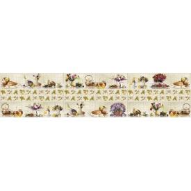 Панно из листовых панелей ПВХ Регул Деревенский натюрморт белый