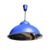 Підвісний світильник стельовий Electropark синій Е27 СП - 3614 (СП - 3614bl)