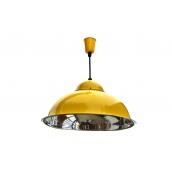 Підвісний світильник стельовий Electropark Е27 жовтий СП - 3614 (СП - 3614y)
