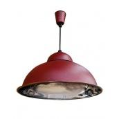 Підвісний світильник стельовий Electropark Е27 бордовий СП - 3614 (СП - 3614br)