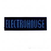 Світлодіодний бейдж ElectroHouse Синій (EH-BL-002)