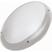 Світильник вологозахищений настінний TEB Electrik AQUA OVAL OPAL Е27 білий (400-012-106)