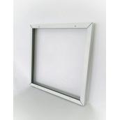 Рамка накладна UKRLED для світлодіодного світильника 600х600х50 мм алюміній квадратня