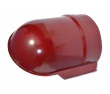 Заглушка конька Тайл 75 мм красный