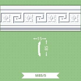 Стіновий плінтус Baraka Decor М85/5 85x15 2 м