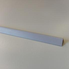 Углы отделочные пластиковые однотонные Теко 2,75 м 20x20 Серый