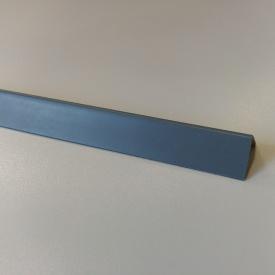Кути оздоблювальні пластикові однотонні Теко 2.75 м 15x15 Графіт
