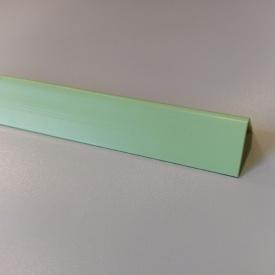 Кути оздоблювальні пластикові однотонні Теко 2.75 м 10x20 Салатовий